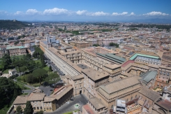 Vatican Museum from above