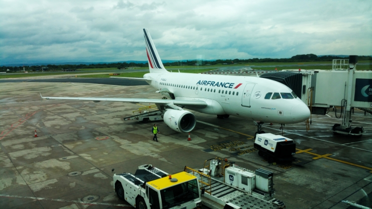 Air France off to Paris