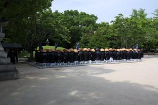 Hiroshima Peace Memorial Prays 2