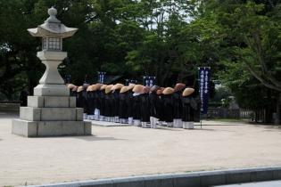 Hiroshima Peace Memorial Prays