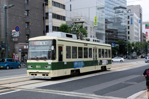 Hiroshima streetscape