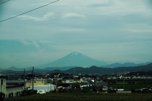 Mt Fuji from Shinkansen
