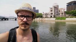 Selfie in Hiroshima