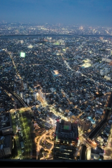 Tokyo from Above dusk 5