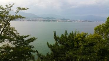 View towards Hiroshima