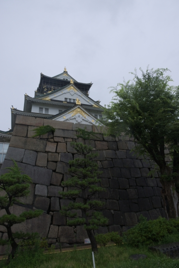 A walk around the Osaka castle