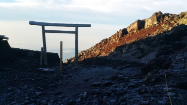 Alternative trail and torii