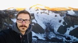 Crater - selfie