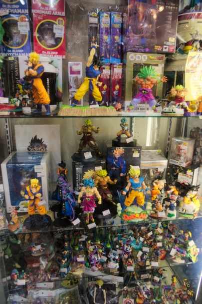Dragon Ball figures
