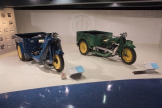 Hiroshima Mazda first vehicles