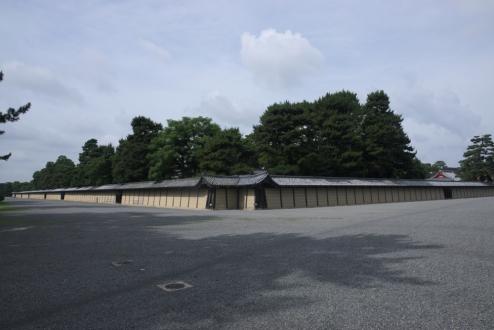 Kyoto Imperial Palace walls