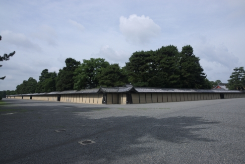 Kyoto Imperial Palace walls