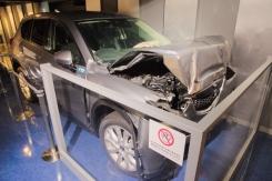 Mazda car crash test