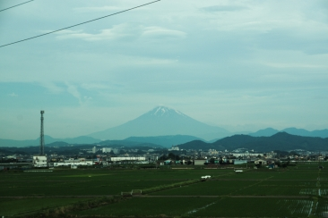 Mt Fuji from Shinkansen2