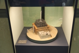 Osaka Castle miniature construction