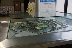 Osaka Castle miniature plan