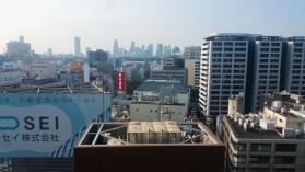 Tokyo panorama from Shibuya