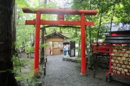 Torii to the Nonoiya Shrine
