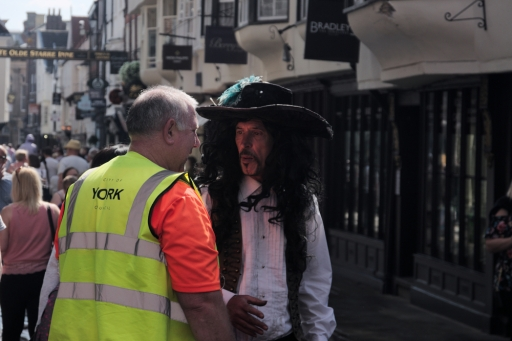 A pirate in York