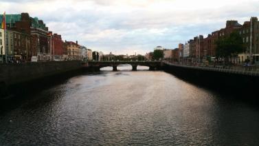 Dublin 12 river Liffey