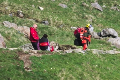 On the way down rescue 10