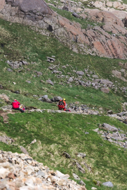 On the way down rescue 17