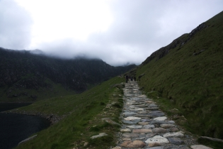 On the way up - Miners Track 4