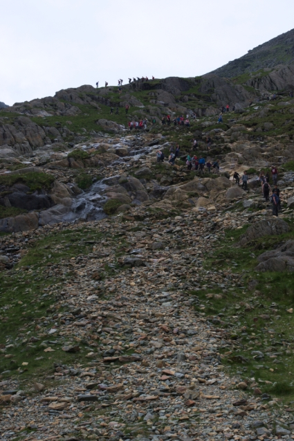 On the way up - Miners Track 8