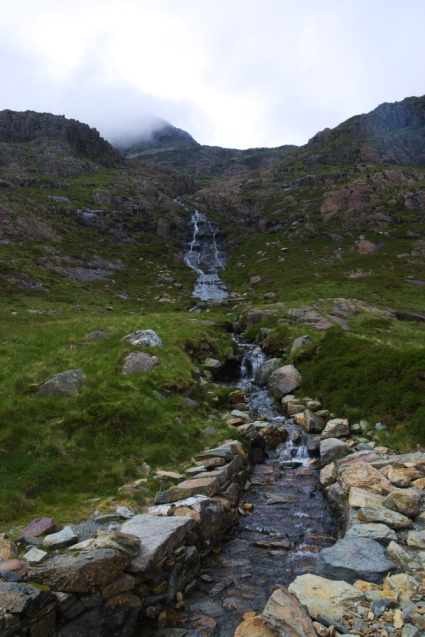 On the way up - Miners Track waterfalls 2