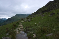On the way up - Pen y Pass 3