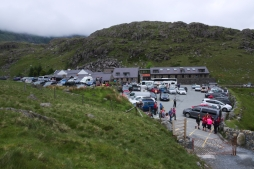 On the way up - Pen y Pass starting point