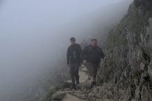 On the way up - Snowdon 11