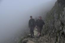 On the way up - Snowdon 11