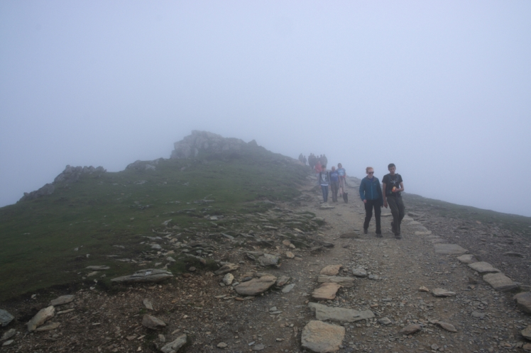 On the way up - Snowdon 12