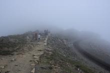 On the way up - Snowdon 13