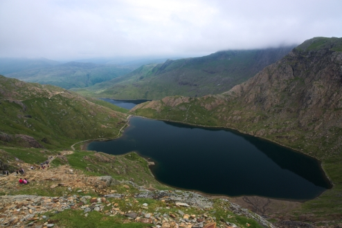 On the way up - Snowdon 4