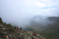 On the way up - Snowdon 6