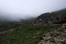 On the way up - Snowdon 8