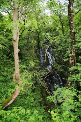 On the way up - Snowdon hidden waterfalls