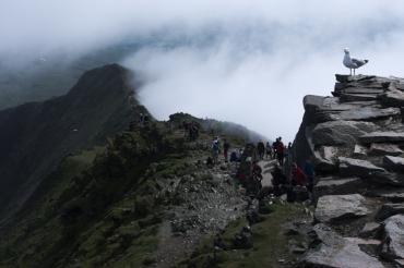 On the way up - Snowdon peak 10