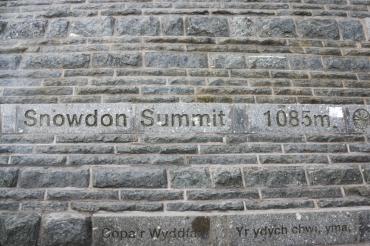 On the way up - Snowdon peak 22