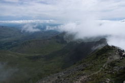 On the way up - Snowdon peak 8jpg