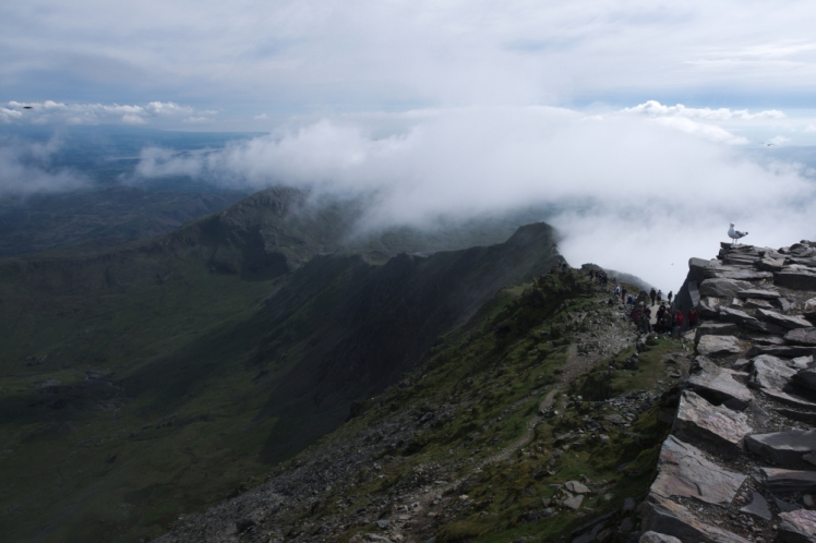 On the way up - Snowdon peak 9
