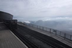 On the way up - Snowdon peak train 2