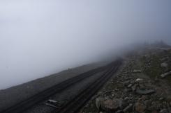 On the way up - Snowdon peak train 3
