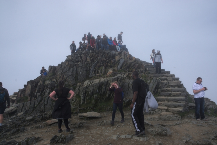 On the way up - Snowdon peak