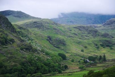 On the way up - Snowdon