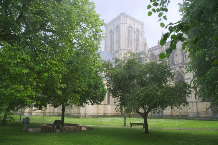 York Cathedral Cloudburst