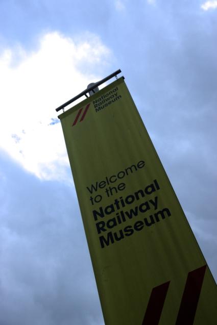 York Railway Museum banner