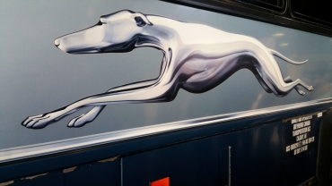 11. Greyhound Canada - Off to Niagara Falls